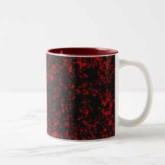 gothic stars Two-Tone coffee mug
