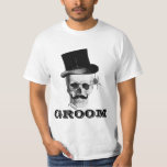Gothic steampunk groom T-Shirt