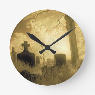 Gothic Time Round Clock
