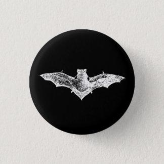 Gothic Vampire Bat 1 Inch Round Button