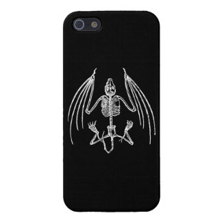 Gothic Vampire Bat Skeleton iPhone 5 Case