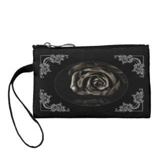 Gothic Vampire Black rose bag