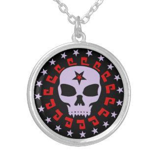 Gothic Vampire Skull Necklace