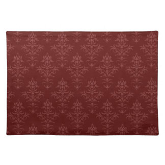 Gothic Victorian Damask Placemat
