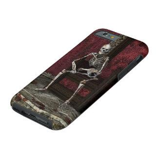 Gothic Waiting Skeleton Tough iPhone 6 Case