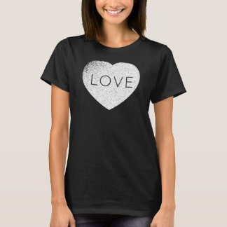 Gothic Weathered Custom Love T-Shirt