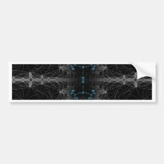 Gothic  Web Abstract Bumper Sticker