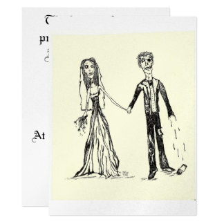 Gothic Wedding Invitations