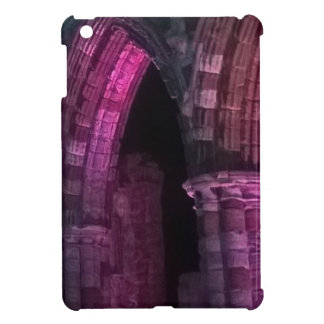 Gothic Whitby abbey. Old ruined abbey Yorkshire Cover For The iPad Mini