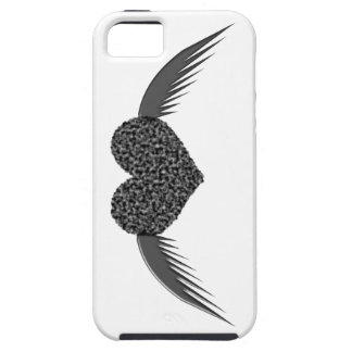 Gothic Winged Love Heart iPhone 5 Case