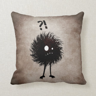 Gothic Wondering Evil Bug Character Kids Throw Pillow