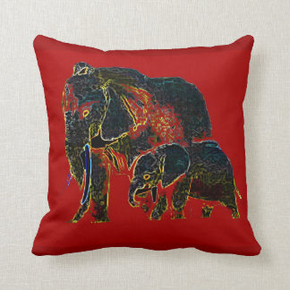 Gothicchicz Elephant American MoJo Pillow