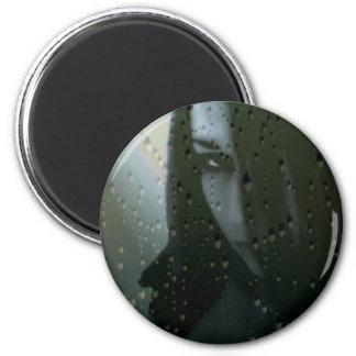GothicGirl 2 Inch Round Magnet