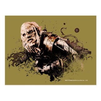 Gothmog Orc Vector Collage Postcard