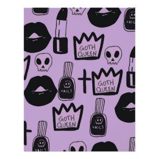gotica queen purpura letterhead