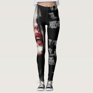 Gótica shirt (gothic style shirt) leggings