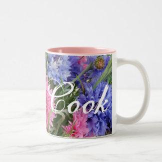 Gotta Cook (pink/blue flowers) Mug
