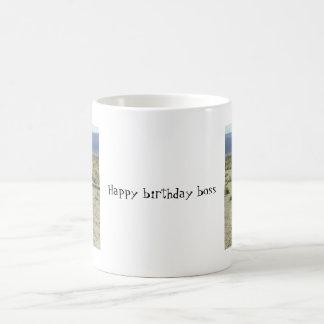 gotta go, gotta go, Happy birthday boss Basic White Mug
