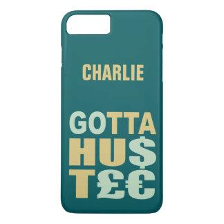 GOTTA HUSTLE / HU$T£€ custom phone cases