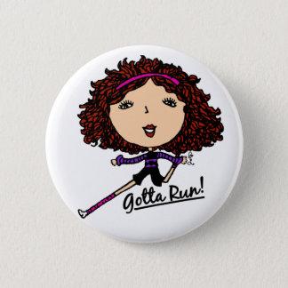 Gotta Run Go Girl Original 2 Inch Round Button