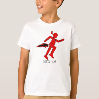 Gotta Run Running Girl T-Shirt