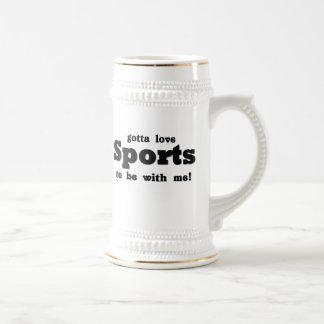 gottaloveSports Beer Stein