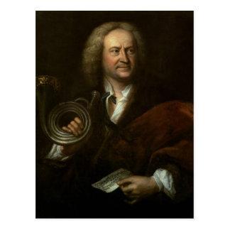 Gottfried Reiche , Senior Musician and Solo Postcard