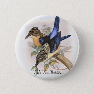 Gould - Mantled Kingfisher Bookstore Promo Button