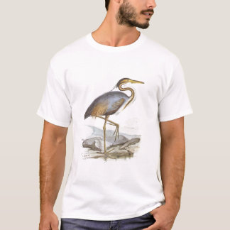 Gould - Purple Heron - Ardea purpurea T-Shirt