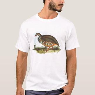 Gould - Red-Legged Partridge - Alectoris rufa T-Shirt