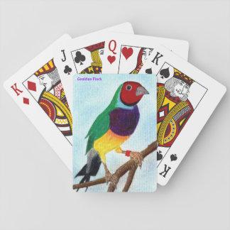 ~ Gouldian Finch ~ Original Art ~ Playing Cards