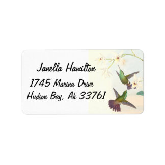 Goulds Hummingbirds Address Labels