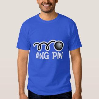 Goupille de roi de la chemise | de bowling t shirt