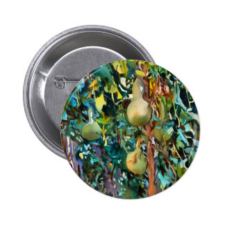 Gourds After John Singer Sargent 2 Inch Round Button