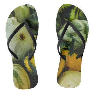 Gourds Galore Flip Flops