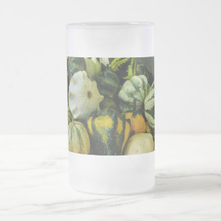 Gourds Galore Frosted Glass Beer Mug