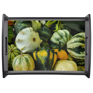 Gourds Galore Serving Tray
