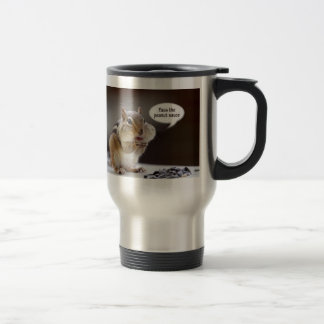 Gourmet Chef or Cook Chipmunk Photo Travel Mug
