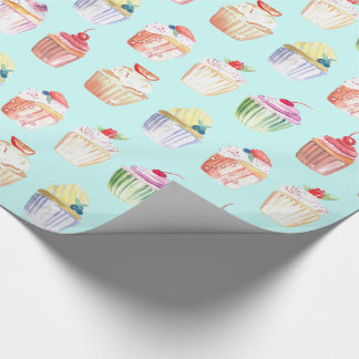 Gourmet Cupcakes Wrapping Paper