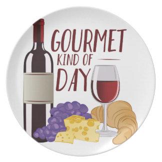 Gourmet Day Dinner Plate