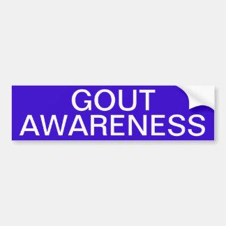 Gout Awareness Bumper Sticker
