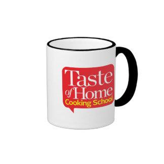 Goût d'école de cuisine familiale mug ringer