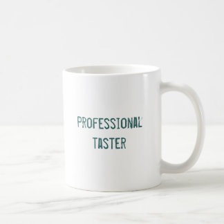 Goûteur professionnel mug blanc