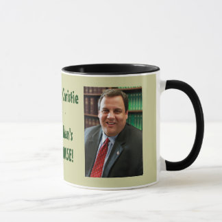 Gov. Chis Christie Big Man's In The House Mug