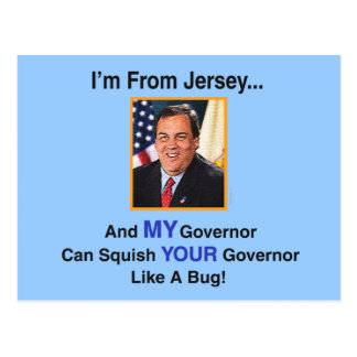 Gov. Chris Christie Postcard