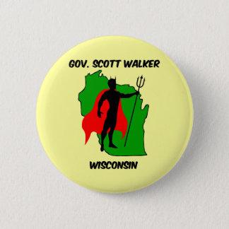 Gov Scott Walker 2 Inch Round Button