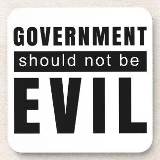 Goverment shouldn't be evil coaster