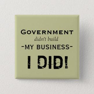 Government... 2 Inch Square Button