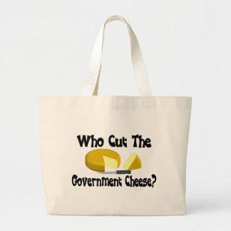 Government Cheese Jumbo Tote Bag