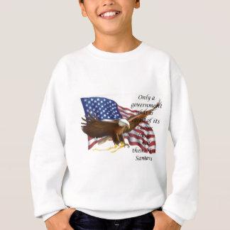 Government Control Flag Statement Sweatshirt